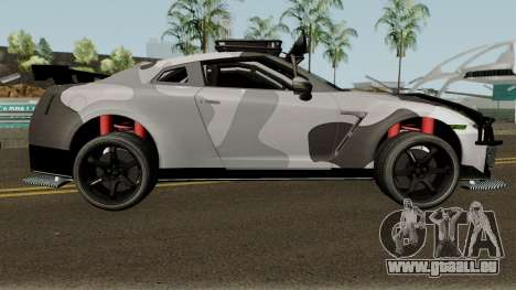 Nissan GT-R Tuning & OffRoad pour GTA San Andreas