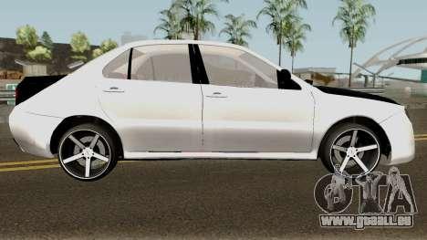 Ikco Dena V2 Sport pour GTA San Andreas vue arrière