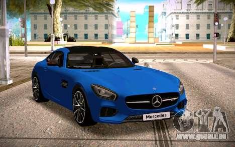 Mercedes-Benz GTS pour GTA San Andreas