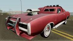 Dodge Charger RT FNF8 Edition (Dukes) 1968 für GTA San Andreas