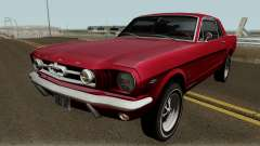 Ford Mustang GT289 Counting Cars v1.0 1965 für GTA San Andreas