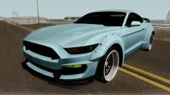 Ford Mustang Shelby GT350R Liberty Walk 2016 pour GTA San Andreas