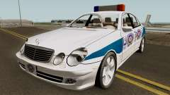 Mercedes Benz E500 Turkish Police Car San Fierro für GTA San Andreas
