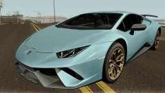 Lamborghini Huracan Perfomante 2017 für GTA San Andreas