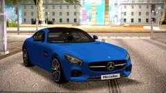 Mercedes-Benz GTS Blue pour GTA San Andreas