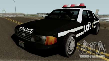 New Police LCPD Black pour GTA San Andreas