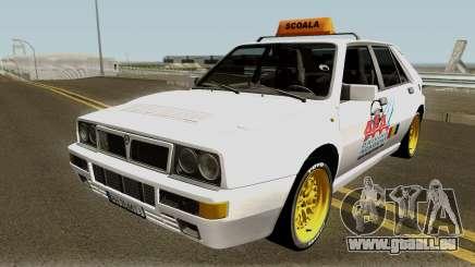 Lancia Delta Integrale HF - School Driving 1989 für GTA San Andreas