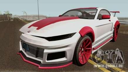 Vapid Dominator GTX GTA V für GTA San Andreas