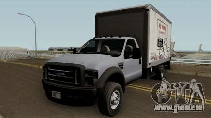 Ford F-550 Box Truck 2008 pour GTA San Andreas
