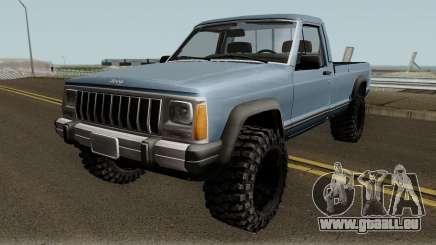 Jeep Comanche pour GTA San Andreas