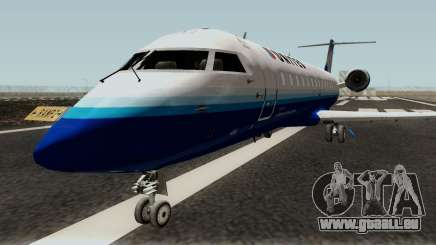 Bombardier CRJ200 für GTA San Andreas