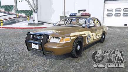 Ford Crown Victoria Sheriff pack [add-on] für GTA 5