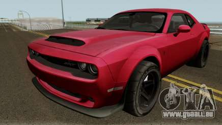 Dodge Challenger SRT Demon 2018 für GTA San Andreas