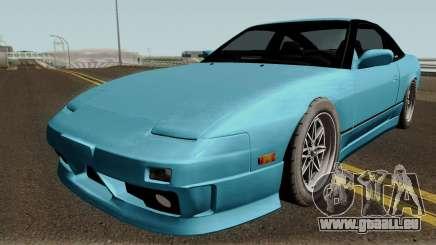 Nissan 180SX Type X HQ für GTA San Andreas