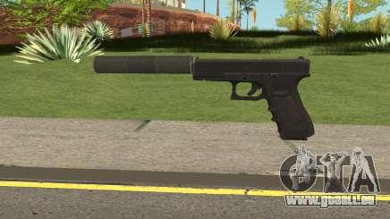 Glock 17 Silenced Escape From Tarkov für GTA San Andreas