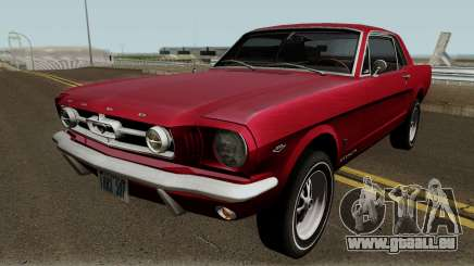 Ford Mustang GT289 Counting Cars v1.0 1965 pour GTA San Andreas
