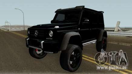 Mercedes-Benz G550 4X4 pour GTA San Andreas