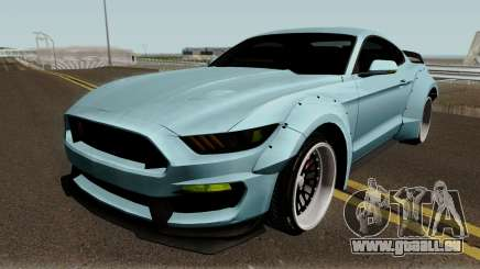 Ford Mustang Shelby GT350R Liberty Walk 2016 für GTA San Andreas