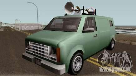 New News Van IVF für GTA San Andreas