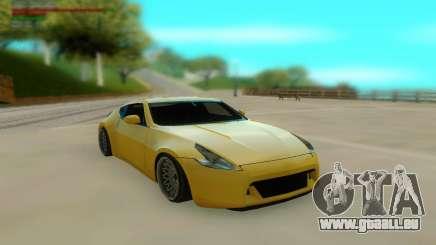 Nissan 370z Z34 12 Low für GTA San Andreas