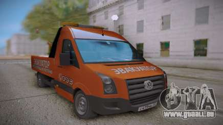 Volkswagen Crafter Towtrack pour GTA San Andreas