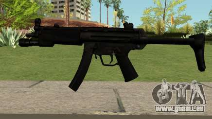 MP5 Black pour GTA San Andreas