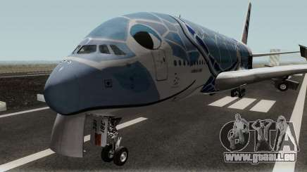 All Nippon Airways (Flying Honu) Airbus A380 für GTA San Andreas