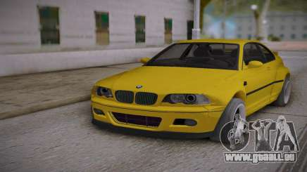 BMW E46 Yellow pour GTA San Andreas