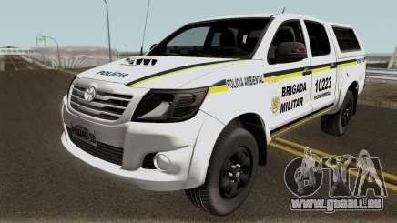 Toyota Hilux do Comando Ambiental pour GTA San Andreas