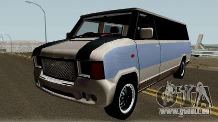 Modificated News Van für GTA San Andreas