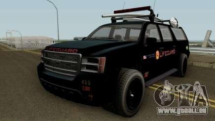 Lifeguard Granger GTA 5 für GTA San Andreas