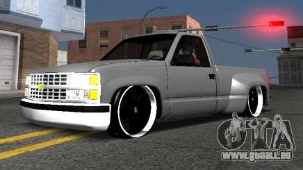 Chevrolet Silverado Low Rider pour GTA San Andreas