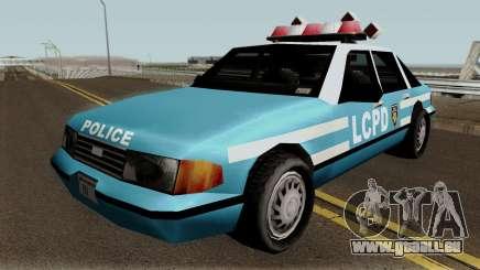 New Police LCPD Blue für GTA San Andreas