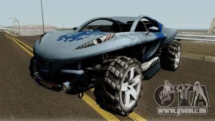 Peugeot Hoggar Concept pour GTA San Andreas