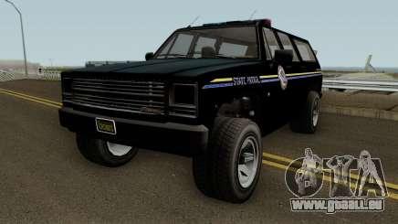 Police Rancher XL GTA 5 pour GTA San Andreas