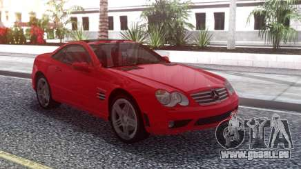 Mercedes-Benz SL65 AMG Red pour GTA San Andreas