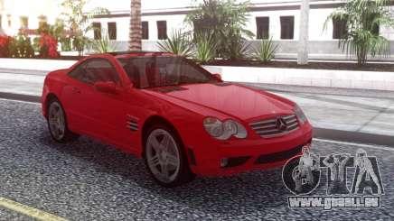 Mercedes-Benz SL65 AMG Red für GTA San Andreas