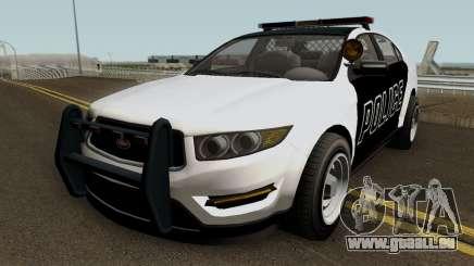 Police Interceptor GTA 5 für GTA San Andreas