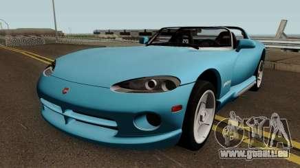 Dodge Viper GTS ACR 1999 pour GTA San Andreas