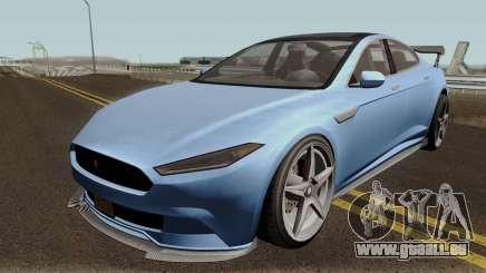 Coil Raiden GTA V pour GTA San Andreas