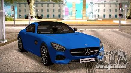 Mercedes-Benz GTS Blue für GTA San Andreas