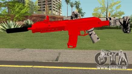 M4 De Trolencio911 Roja pour GTA San Andreas