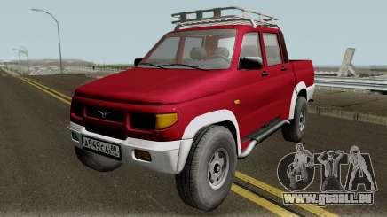 UAZ 2362 Pickup-revision v2.0 für GTA San Andreas