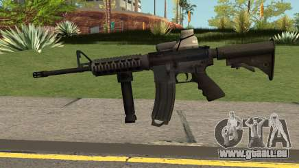 M4 with Eotech pour GTA San Andreas
