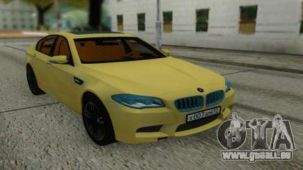 BMW M5 F10 Sedan pour GTA San Andreas