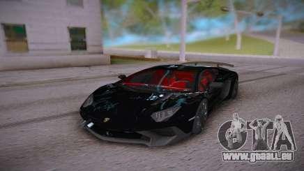 Lamborghini Aventador LP700-4 Roadster für GTA San Andreas