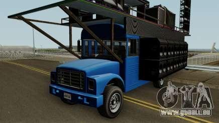 Vapid Festival Bus GTA V IVF für GTA San Andreas