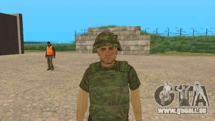 Un combattant des forces armées en tenue de camouflage Figure pour GTA San Andreas
