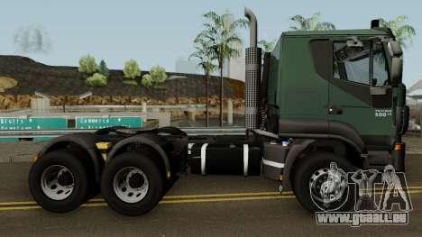 Iveco Trakker Cab Low 6x4 für GTA San Andreas Rückansicht