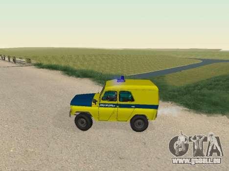 UAZ 469 Polizei für GTA San Andreas